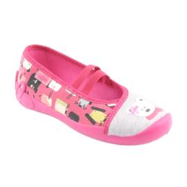 Încălțăminte pentru copii Befado 116X226 gri roz 1