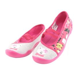 Încălțăminte pentru copii Befado 116X226 gri roz 3
