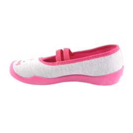 Încălțăminte pentru copii Befado 116X226 gri roz 2