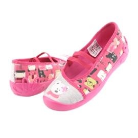Încălțăminte pentru copii Befado 116X226 gri roz 4