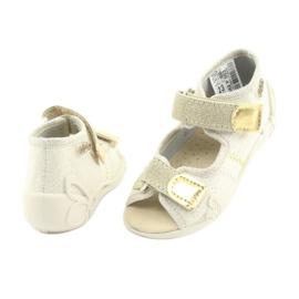 Pantofi pentru copii Befado galbeni 342P003 maro 4