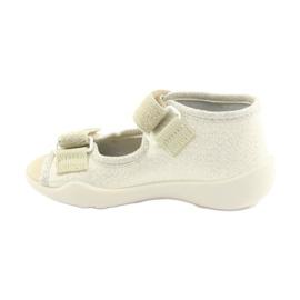 Pantofi pentru copii Befado galbeni 342P003 maro 2