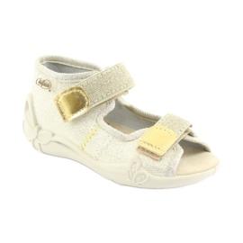 Pantofi pentru copii Befado galbeni 342P003 maro 1