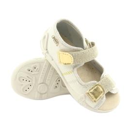 Pantofi pentru copii Befado galbeni 342P003 maro 3