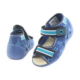 Pantofi de befado galben pentru copii 350P004 5