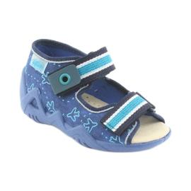 Pantofi de befado galben pentru copii 350P004 2
