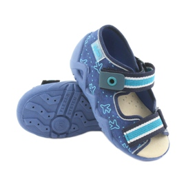Pantofi de befado galben pentru copii 350P004 4