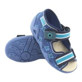 Încălțăminte pentru copii Befado 350P004 albastru verde albastru marin 3