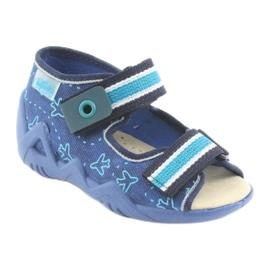 Încălțăminte pentru copii Befado 350P004 albastru verde albastru marin 1