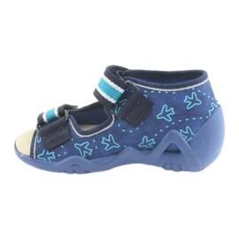 Încălțăminte pentru copii Befado 350P004 albastru verde albastru marin 2
