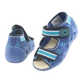 Încălțăminte pentru copii Befado 350P004 albastru verde albastru marin 4