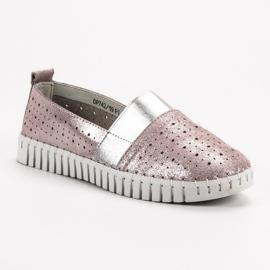 Filippo Slip-on încălțăminte cu Brocade roz 3