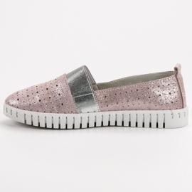 Filippo Slip-on încălțăminte cu Brocade roz 4