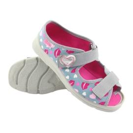 Încălțăminte pentru copii Befado 969Y133 roz gri 5