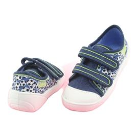 Încălțăminte pentru copii Befado 907P103 albastru marin albastru verde 4