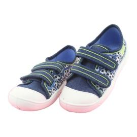 Încălțăminte pentru copii Befado 907P103 albastru marin albastru verde 3