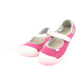 Încălțăminte pentru copii Befado 208X037 alb roz 3