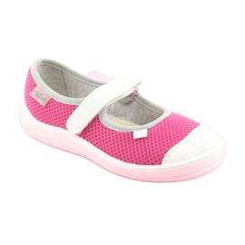 Încălțăminte pentru copii Befado 208X037 alb roz 1