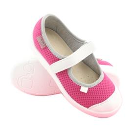 Încălțăminte pentru copii Befado 208X037 alb roz 2