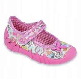 Încălțăminte pentru copii Befado 109P191 roz multicolor 1