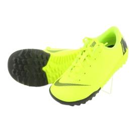 Nike Mercurial VaporX 12 Academie Tf Jr AH7353-701 Cizme pentru fotbal galben 5
