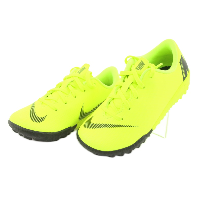Nike Mercurial VaporX 12 Academie Tf Jr AH7353-701 Cizme pentru fotbal imagine 3