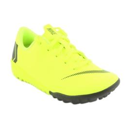 Nike Mercurial VaporX 12 Academie Tf Jr AH7353-701 Cizme pentru fotbal galben 1