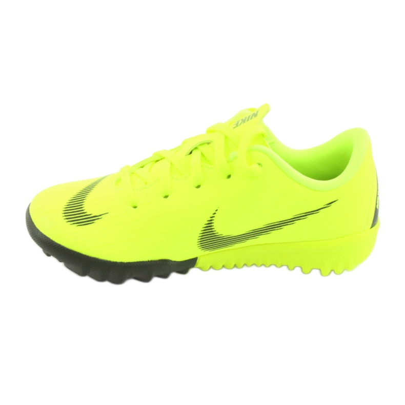 Nike Mercurial VaporX 12 Academie Tf Jr AH7353-701 Cizme pentru fotbal imagine 2
