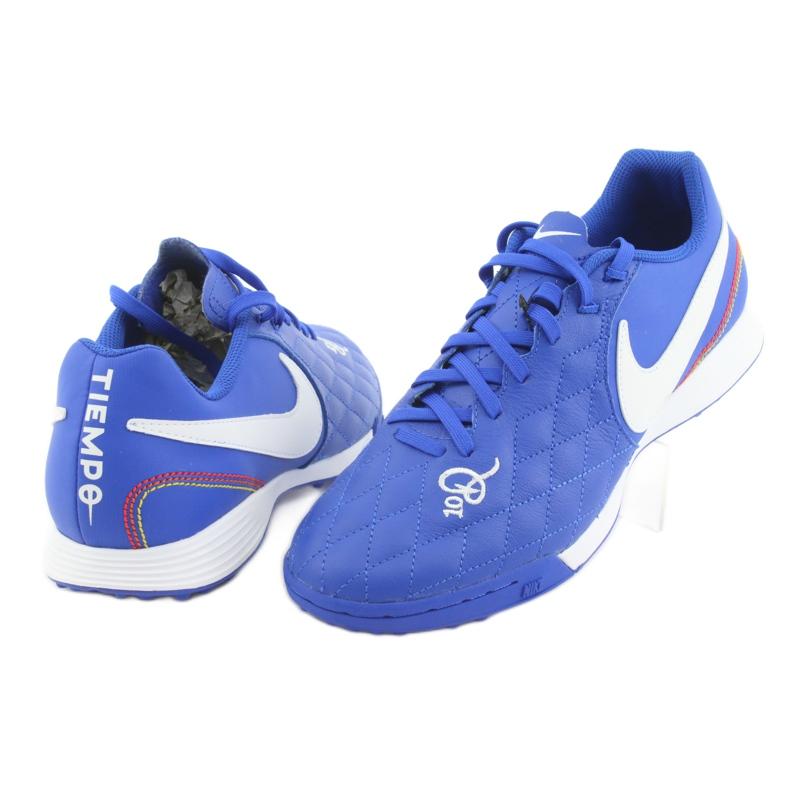 Pantofi de fotbal Nike Tiempo Legend 7 Academie 10R Tf M AQ2218-410 imagine 4