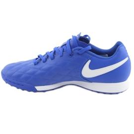 Pantofi de fotbal Nike Tiempo Legend 7 Academie 10R Tf M AQ2218-410 albastru 2