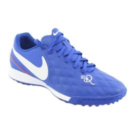 Pantofi de fotbal Nike Tiempo Legend 7 Academie 10R Tf M AQ2218-410 albastru 1