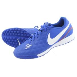 Pantofi de fotbal Nike Tiempo Legend 7 Academie 10R Tf M AQ2218-410 albastru 5
