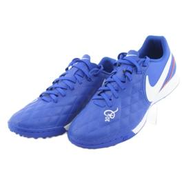 Pantofi de fotbal Nike Tiempo Legend 7 Academie 10R Tf M AQ2218-410 albastru 3