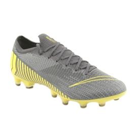 Nike Mercurial Vapor 12 Elite Ag Pro M AH7379-070 Pantofi de fotbal gri 1