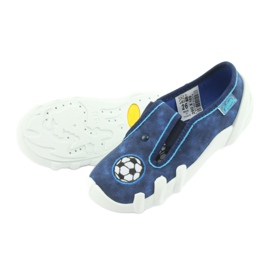 Pantofi pentru copii Befado 290X169 alb albastru marin albastru 4