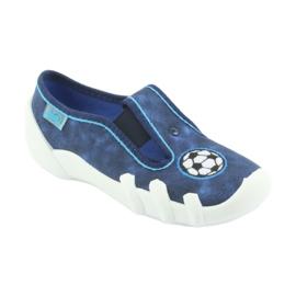 Pantofi pentru copii Befado 290X169 alb albastru marin albastru 1