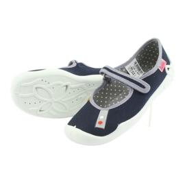 Pantofi pentru copii Befado bleumarin 114Y317 albastru marin 4