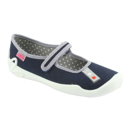 Pantofi pentru copii Befado bleumarin 114Y317 albastru marin 1