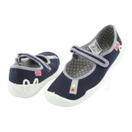 Pantofi pentru copii Befado bleumarin 114Y317 albastru marin 3