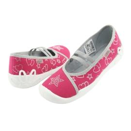 Încălțăminte pentru copii Befado 116Y245 roz gri 3