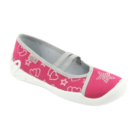 Încălțăminte pentru copii Befado 116Y245 roz gri 1