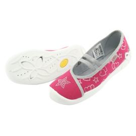 Încălțăminte pentru copii Befado 116Y245 roz gri 4