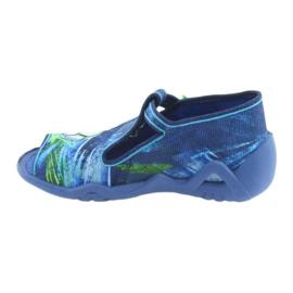 Încălțăminte pentru copii Befado 217P098 albastru verde 2