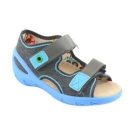 Pantofi pentru copii Befado pu 065P125 albastru gri 1