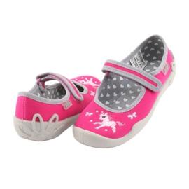 Încălțăminte pentru copii Befado 114X324 roz gri 4