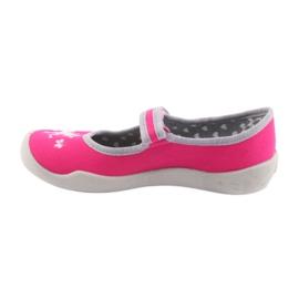 Încălțăminte pentru copii Befado 114X324 roz gri 2