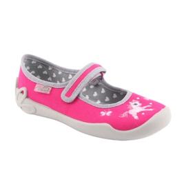 Încălțăminte pentru copii Befado 114X324 roz gri 1