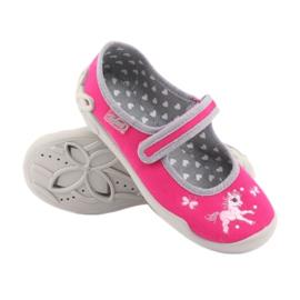 Încălțăminte pentru copii Befado 114X324 roz gri 3