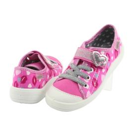 Încălțăminte pentru copii Befado 251X123 alb roz gri 4