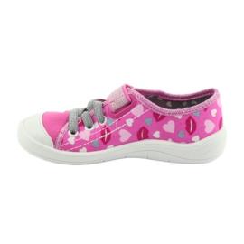 Încălțăminte pentru copii Befado 251X123 alb roz gri 2